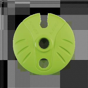 Klobúčik na Leki palice Cobra Powder Ø 80 mm Green