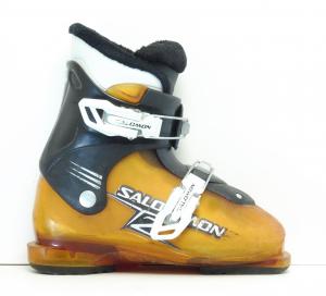Detské lyžiarky BAZÁR Salomon T2 210