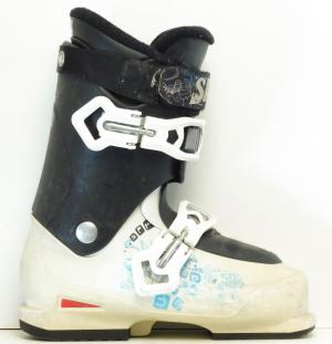 Detské lyžiarky BAZÁR Salomon SPK 240