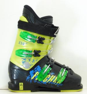 Detské lyžiarky BAZÁR Fischer X50 JR 235