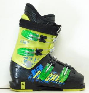 Detské lyžiarky BAZÁR Fischer X50 JR 225