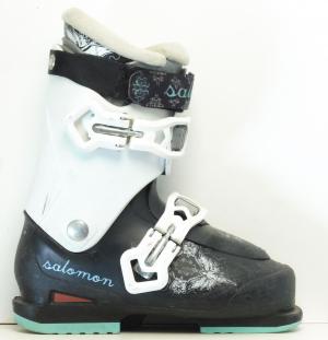 Detské lyžiarky BAZÁR Salomon Keira 230