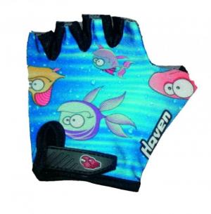 Detské rukavice na bicykel Haven Dream fish