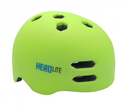 Detská prilba na bicykel Haven Hero lite II Green