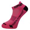 Detské ponožky na bicykel Haven Snake Neo Pink 2 páry