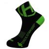 Detské ponožky na bicykel Haven Lite Neo Black/Green 2 páry