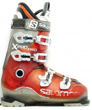 Pánske lyžiarky BAZÁR Salomon X Pro R 90 Red 280