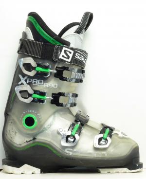 Pánske lyžiarky BAZÁR Salomon X Pro R 90 Green 270
