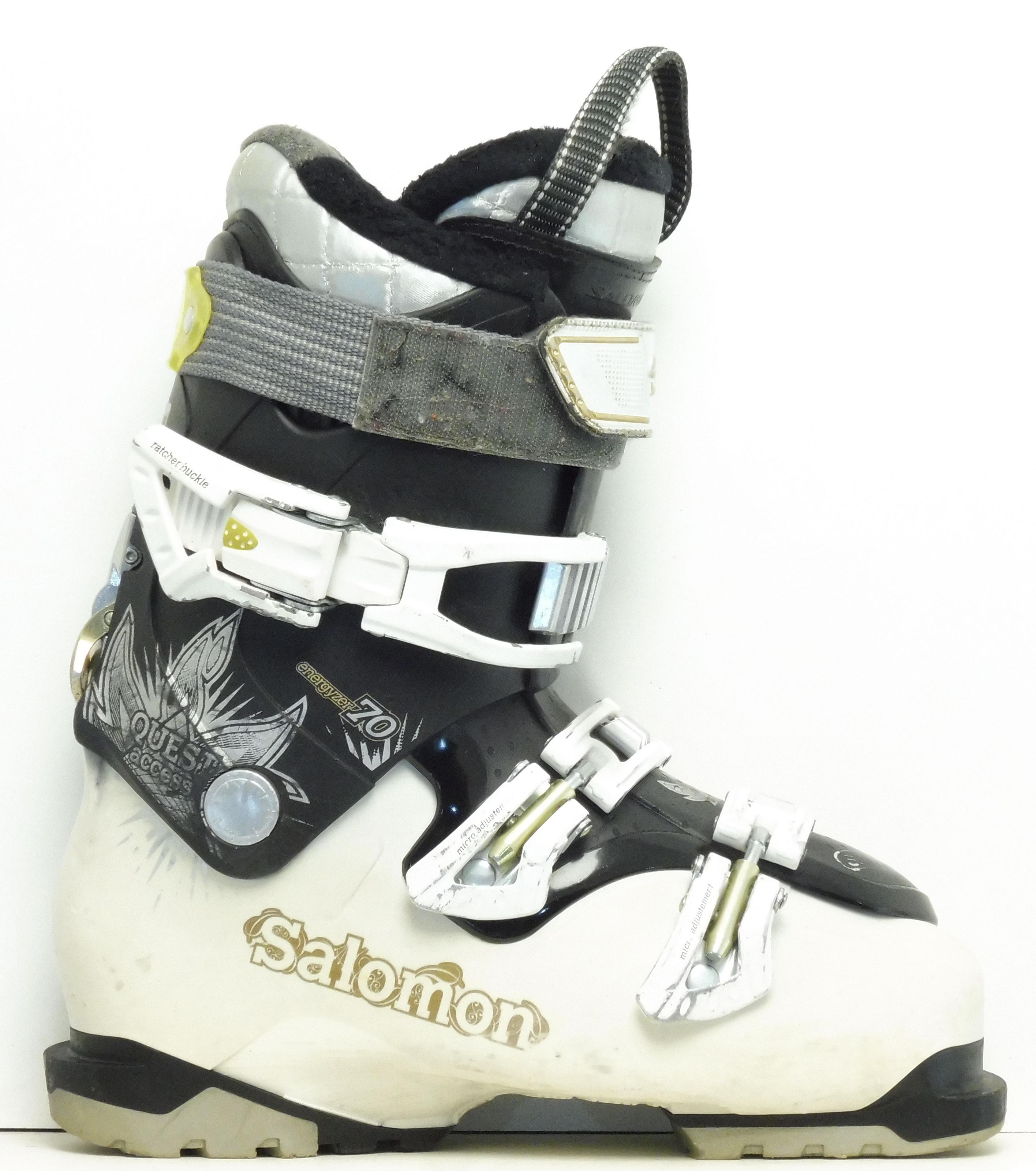 salomon Dámske lyžiarky BAZÁR Salomon Quest Access 255 dc7495afceb