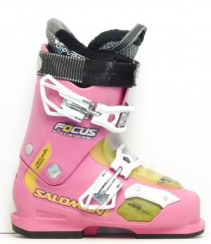Dámske lyžiarky BAZÁR Salomon Focus Pink 230 daf630b080a