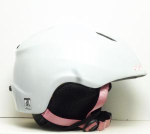 Lyžiarska prilba BAZÁR Salomon JR wh/pink S/M