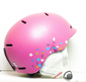 Lyžiarska prilba BAZÁR Atomic pink XS
