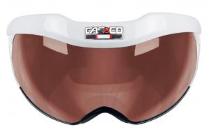 Náhradný štít Casco SNOWmask 6 Visor white Vautron