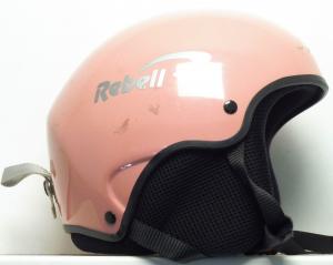 Lyžiarska prilba BAZÁR Rebell Pink 58