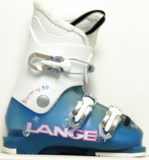 Detské lyžiarky BAZÁR Lange Starlett 195