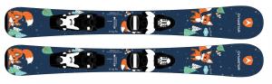 Detské lyže Dynastar MY FIRST FOX + TEAM 4 B76 BK/WHT