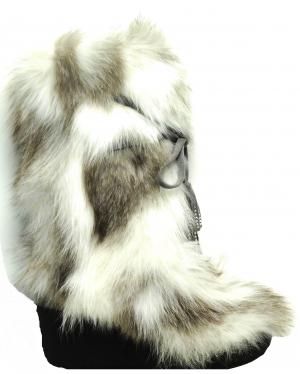 Luxusná dámska obuv Diavolezza 627 Velour Grey/Artic Fox