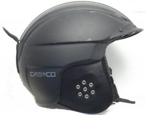 Lyžiarska prilba BAZÁR Casco Powder Black S