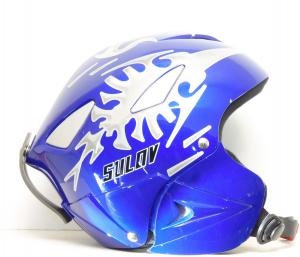 Lyžiarska prilba BAZÁR Sulov blue S