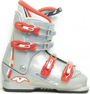 Detské lyžiarky BAZÁR Nordica GP4 grey 245