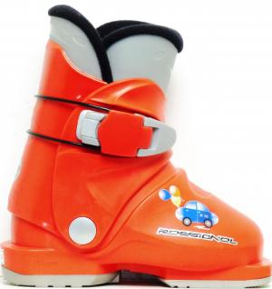 Detské lyžiarky BAZÁR Rossignol R18 red 155