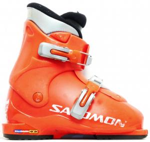 Detské lyžiarky BAZÁR Salomon Red 3 200