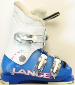 Detské lyžiarky BAZÁR Lange Starlett blue 205