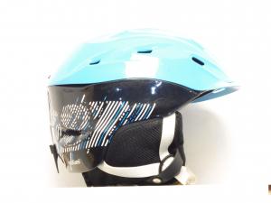 Lyžiarska prilba BAZÁR Tecno Pro Makaki blue black 56