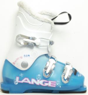 Detské lyžiarky BAZÁR Lange Starlett blue 195