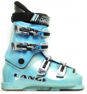 Detské lyžiarky BAZÁR Lange Team Blue 245