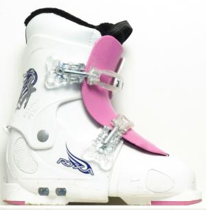 Detské lyžiarky BAZÁR Roxa Pink 220-255 cm