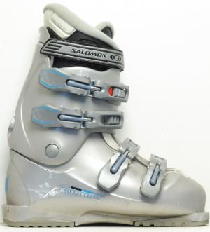 Detské lyžiarky BAZÁR Salomon silver 265