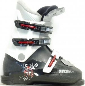 Detské lyžiarky Bazar Tecnica RJ3  black/red 215
