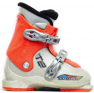 Detské lyžiarky BAZÁR Salomon T2 180