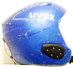 Lyžiarska prilba BAZÁR Uvex blue 52