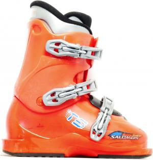 Detské lyžiarky BAZÁR Salomon T3 225