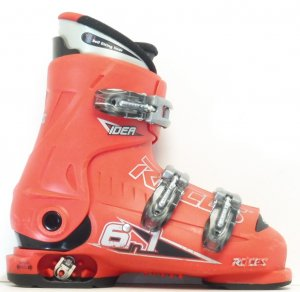 Detské lyžiarky BAZÁR Roces Red 190-220 cm