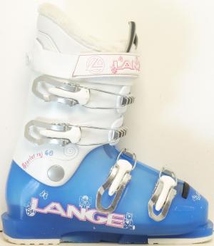 Detské lyžiarky BAZÁR Lange Starlett 60 Blue 265