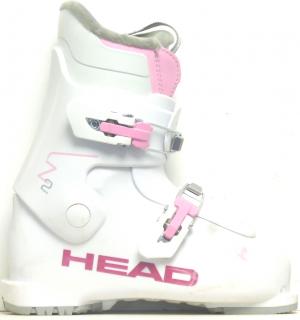 Detské lyžiarky BAZÁR Head Edge J2 white pink 215