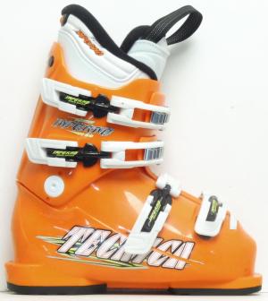 Detské lyžiarky BAZÁR Tecnica Inferno orange 185