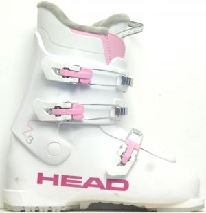 Detské lyžiarky BAZÁR Head Z3 wh/pink 250
