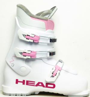 Detské lyžiarky BAZÁR Head Z3 wh/pink 255