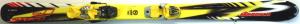 Detské lyže BAZÁR Nordica Speed J Yellow 130cm