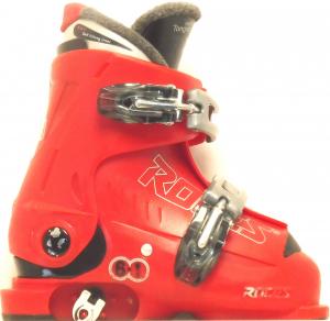 Detské lyžiarky BAZÁR Roces Red 180-210 CM