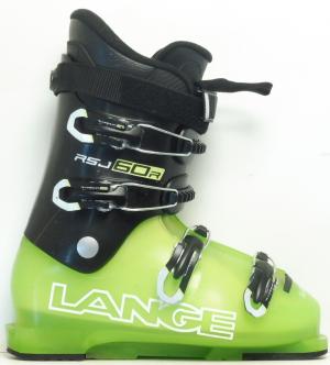Detské lyžiarky BAZÁR Lange RSJ 60R bk/green 265