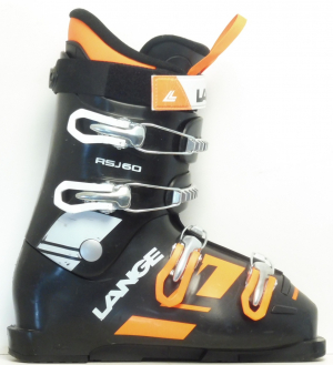 Detské lyžiarky BAZÁR Lange RSJ 60 black 255
