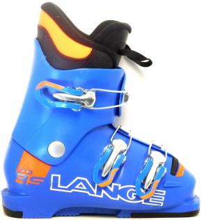 Detské lyžiarky BAZÁR Lange RSJ 50 power blue/orange  215