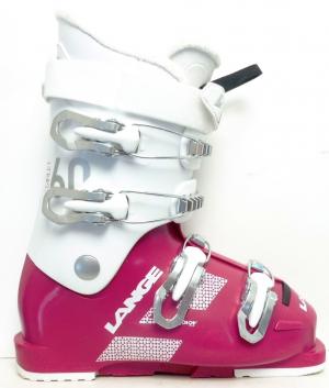 Detské lyžiarky BAZÁR Lange Starlett magenta 230