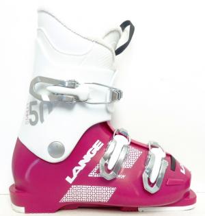 Detské lyžiarky BAZÁR Lange Starlett 50 Magenta  210