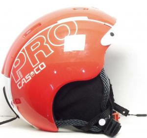 Lyžiarska prilba BAZÁR Casco Mini Pro Red S 50-55